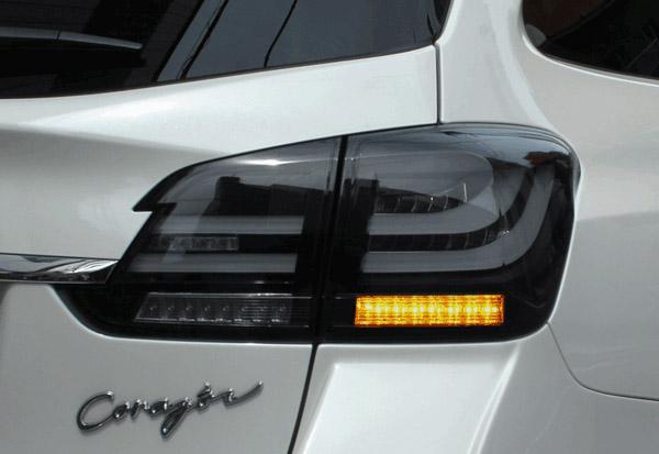 CORAZON LED TAIL LAMP BLACK EDITION FLASH スバル レヴォーグ VMG/VM4用 (CZ-VM-LT003F)【電装品】コラゾン LEDテールランプ ブラックエディション フラッシュウインカー