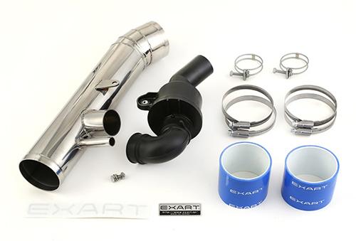 EXART Air Intake Stabilizer トヨタ マークX GRX130/GRX135用 サウンドジェネレーターSET (EA04-LX100-S)【インテーク】エクスアート エアインテーク スタビライザー