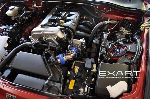 EXART Air Intake Stabilizer マツダ ロードスター ND5RC用 (EA04-MZ102)【インテーク】エクスアート エアインテーク スタビライザー