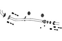 FUJITSUBO Front Pipe スズキ ジムニー ターボ JB23W用 (610-80915)【マフラー】【自動車パーツ】フジツボ フロントパイプ 藤壺技研