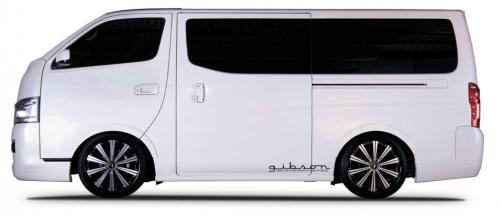 GIBSON Blind Fender 日産 ニッサン NV350キャラバン E26系用 【エアロ】ギブソン ブラインドフェンダー