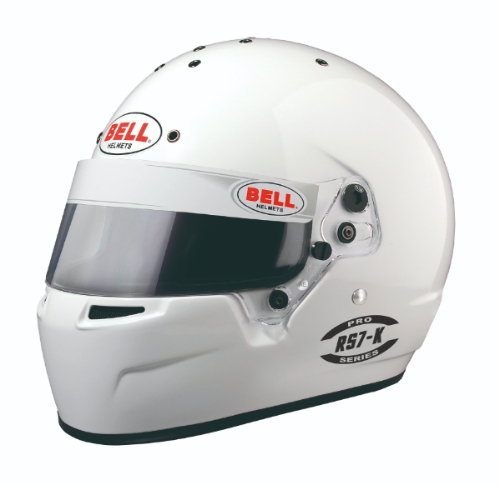 Bell Racing Helmets >> Bell Racing Helmets Kart Series Rs7 K Color White Bell Racing Helmet Cart Series