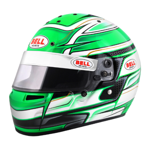 BELL RACING HELMETS KART Series KC7-CMR VENOM GREEN カラー:グリーン【四輪用ヘルメット】ベルレーシングヘルメット カートシリーズ KC7-CMR ヴェノム グリーン