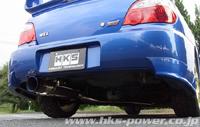 HKS Super Turbo MUFFLER スバル インプレッサWRX STI GDB A~D用 (31029-AF002)【JASMA認定品】【マフラー】【自動車パーツ】エッチケーエス スーパーターボマフラー【車関連の送付先指定で送料無料】