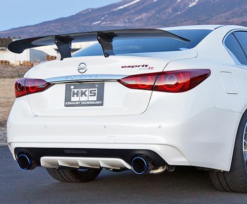 HKS Super Turbo MUFFLER 日産 ニッサン スカイライン 400R RV37用 (31029-AN006)【JQR認定品】【マフラー】【自動車パーツ】エッチケーエス スーパーターボマフラー【車関連の送付先指定で送料無料】