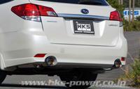 HKS LEGAMAX Premium スバル レガシィツーリングワゴン BRM用 中間付き左右出し(32018-AF010)【JQR認定品】【マフラー】【自動車パーツ】エッチケーエス リーガマックス プレミアム【車関連の送付先指定で送料無料】