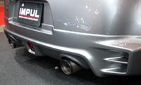 IMPUL BLAST GT MUFFLER チタンテール 日産 ニッサン フェアレディZ AT車 Z34用 【マフラー】【自動車パーツ】インパル ブラストGTマフラー