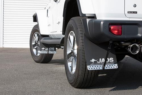 JAOS マッドガード3 前後セット ブラック ジープ ラングラー JL用 (B610903/B622002) 【外装品】 ジャオス MUD GUARD III 黒 フロント/リヤ セット