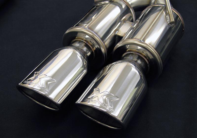 JAOS BATTLEZ EXHAUST ZS-2 ミツビシ デリカD:5 ガソリン車用 (B701304) 【マフラー】【自動車パーツ】 ジャオス バトルズ エキゾースト ZS2