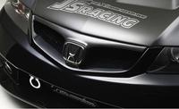 J's RACING タイプSバンパー専用 フロントグリル(カーボン) ホンダ アコード CL7/CL9/CM2用 (品番:AG-E2-JS)【エアロ】ジェイズレーシング Type-S Front Grille