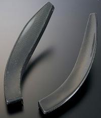 J's RACING タイプSバンパー専用 フロントカナード(カーボン) ホンダ アコード CL7/CL9/CM2用 (品番:CCN-E2-JS)【エアロ】ジェイズレーシング Type-S Front Canard