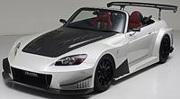 J's RACING ワイドボディーエアロシステム フルキット タイプGT(カーボン) ホンダ S2000 AP1用 (品番:GTK-S1-C)【エアロ】ジェイズレーシング Wide Body Aero System Full Kit Type-GT