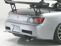 J's RACING リアバンパー タイプS(カーボン) ホンダ S2000 AP1用 (品番:JSR-S1-C)【エアロ】ジェイズレーシング Rear Bumper