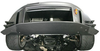 J's RACING タイプSバンパー専用 アンダーパネル(カーボン) ホンダ S2000 AP1用 (品番:JSW-S1-C)【エアロ】ジェイズレーシング Type-S Under Panel