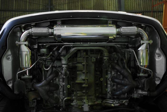 アーキュレー エキゾーストシステム ステンレス シリーズ ポルシェ 911【997】 ターボ用 品番(8040AU53)【マフラー】【自動車パーツ】ARQRAY Exhaust System Stainless Series