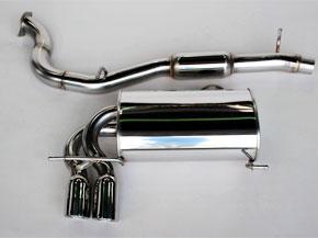 アーキュレー エキゾーストシステム ステンレス シリーズ アウディ A3 3.2クアトロ 3DR用 品番(8500AU21)【マフラー】【自動車パーツ】ARQRAY Exhaust System Stainless Series