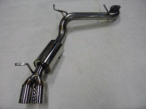 アーキュレー エキゾーストシステム ステンレス シリーズ アルファロメオ GTV V6 / スパイダー TS用 品番(8010AU60)【マフラー】【自動車パーツ】ARQRAY Exhaust System Stainless Series