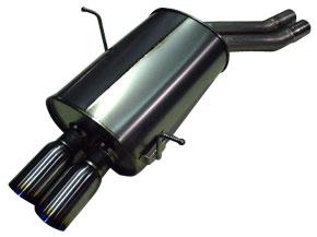 アーキュレー エキゾーストシステム チタン サイレンサー BMW E46 320i/325i/330i用 片側W 品番(8030TS81)【マフラー】【自動車パーツ】ARQRAY Exhaust System Titanium Silencer