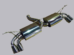 アーキュレー エキゾーストシステム ステンレス シリーズ VW フォルクスワーゲン TOUAREG V6用 品番(8300AU40)【マフラー】【自動車パーツ】ARQRAY Exhaust System Stainless Series