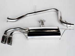アーキュレー エキゾーストシステム ステンレス シリーズ アウディ New TT 2.0 TSFIターボ用 品番(8500AU40)【マフラー】【自動車パーツ】ARQRAY Exhaust System Stainless Series