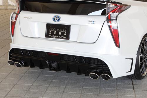 M'z SPEED GLMRS LINE Exhaust System トヨタ プリウス ZVW55用 (1392-0245)【マフラー】【自動車パーツ】エムズスピード グラマラスライン エキゾーストシステム