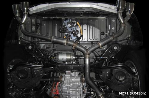 【クーポンで最大2000円OFF】M'z SPEED LUV LINE Exhaust System レクサス RX450h GYL25W用 (2332-0245)【マフラー】【自動車パーツ】エムズスピード ラヴライン エキゾーストシステム