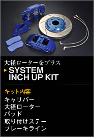 ENDLESS SUPER MICRO 6POT CALIPER SYSTEM INCH UP KIT鈴木卡布奇諾EA11R/21R用(EC3XEA11R)
