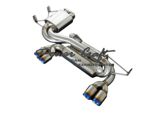 パワークラフト ハイブリッドエキゾーストマフラーシステム BMW M3 E46用 (P-BM510103)【マフラー】POWER CRAFT HYBRID EXHAUST MUFFLER SYSTEM