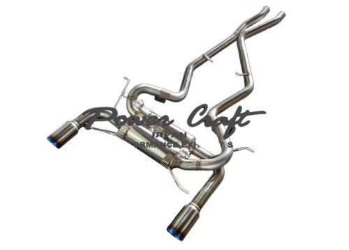 パワークラフト ハイブリッドエキゾーストマフラーシステム BMW 335i クーペ用 (P-BM530102)【マフラー】POWER CRAFT HYBRID EXHAUST MUFFLER SYSTEM