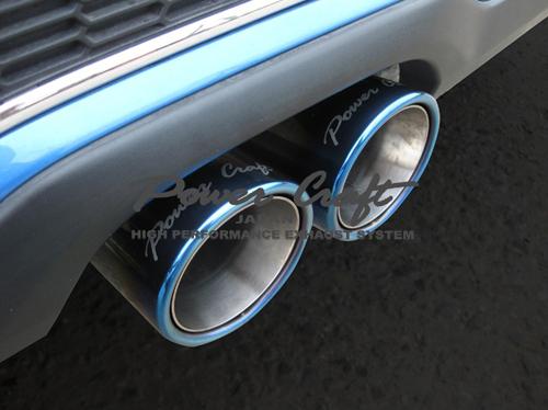 パワークラフト ハイブリッドエキゾーストマフラーシステム&エキゾーストシステム BMW ミニ クーパーS R56用 (P-BM550101)【マフラー】POWER CRAFT HYBRID EXHAUST MUFFLER SYSTEM&EXHAUST SYSTEM