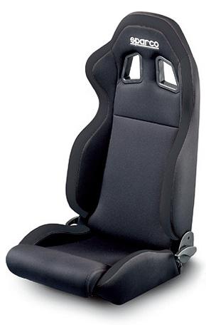 SPARCO TUNING SEAT R100 ブラック×ブラック (品番00961NRNR)【シート】【自動車パーツ】スパルコ チューニングシート R100 黒