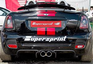 スーパースプリント BMW ミニ ロードスター クーパーS/JCW R59用 リアマフラー(831626)【eマーク適合品】【マフラー】【自動車パーツ】Supersprint ハイパフォーマンスエキゾーストシステム