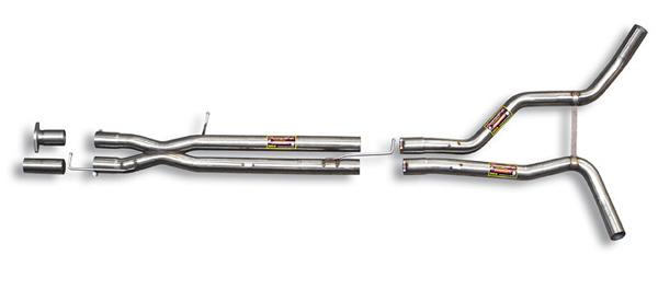 スーパースプリント レンジローバー スポーツ 4.2i V8 '05-'09用 センターパイプ(ストレート) (401413)【eマーク適合無】【マフラー】【自動車パーツ】Supersprint ハイパフォーマンスエキゾーストシステム