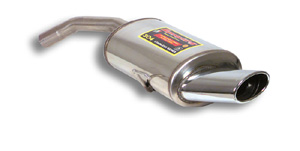 スーパースプリント アルファロメオ GT クーペ 3.2 '04-用 リアマフラー レーシング 片側楕円シングル145×95mm (754225)【eマーク適合無】【マフラー】【自動車パーツ】Supersprint ハイパフォーマンスエキゾーストシステム