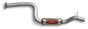 スーパースプリント フォード フォーカス RS 305HP '09- センターマフラー(サブタイコ付) (825403)【eマーク適合品】【マフラー】【自動車パーツ】Supersprint ハイパフォーマンスエキゾーストシステム