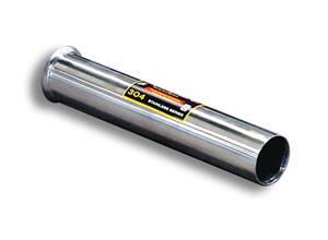 スーパースプリント ルノー メガーヌ2 RS 2.0 225HP ターボ スポール '04-'09用 コネクティングパイプ・センターパイプ(ストレート) (873733/873713)【eマーク適合無】【マフラー】【自動車パーツ】Supersprint ハイパフォーマンスエキゾーストシステム