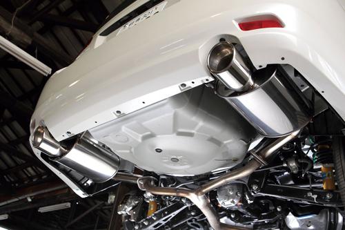 シムスレーシング リヤマフラー スバル レガシィ ツーリングワゴン BR9用 (Y0800BR001)【マフラー】【自動車パーツ】Syms Racing Rear Muffler