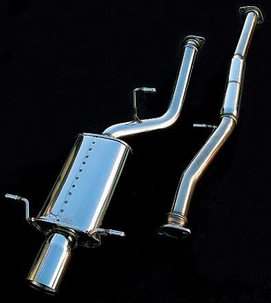 シムスレーシング マフラーセット スバル インプレッサ WRX STI GDB E~G型用 (Y08104S010)【マフラー】【自動車パーツ】Syms Racing Muffler Set