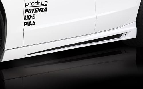 ROWEN PREMIUM Edition サイドステップ(FRP) 素地 AUDI A5 スポーツバック 前期 8T系用 (1A003J00)【エアロ】ロェン プレミアムエディション【車法人のみ送料無料】