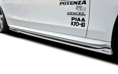 ROWEN PREMIUM Edition サイドステップ(FRP) 素地 AUDI S4/S4アバント/A4/A4アバント Sライン 8K系用 (1A010J00)【エアロ】ロェン プレミアムエディション【車法人のみ送料無料】