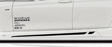 ROWEN PREMIUM Edition サイドステップ(FRP) 素地 BMW 3シリーズ Mスポーツ F30/F31用 (1B002J00)【エアロ】ロェン プレミアムエディション【車法人のみ送料無料】