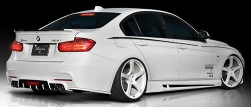 ROWEN PREMIUM Edition トランクスポイラー(FRP) 素地 BMW 3シリーズ Mスポーツ F30/F31用 (1B002T00)【エアロ】ロェン プレミアムエディション【車法人のみ送料無料】