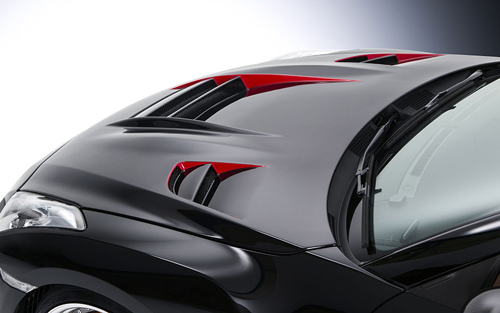 ROWEN WORLD PLATINUM RRレーシングボンネット(FRP) 素地 日産 ニッサン GT-R R35用 (1N001B00)【エアロ】ロェン ワールドプラチナ