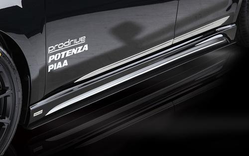 ROWEN PREMIUM Edition サイドステップ(FRP) 素地 スバル レガシィ B4 A/B/C型 BM9用 (1S001J00)【エアロ】ロェン プレミアムエディション