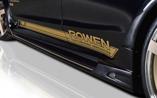 ROWEN PREMIUM Edition サイドステップ(FRP) 塗装済み スバル レヴォーグ VM4/VMG用 (1S005J00#)【エアロ】ロェン プレミアムエディション
