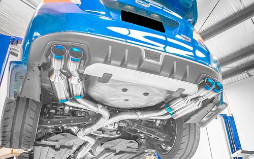 【タイムセール!】 ROWEN PREMIUM01TR プレミアム01TR HEAT BLUE TITAN STI スバル WRX STI VAB用 VAB用 レーシングスペック/可変バルブ付(1S006Z01TR)【マフラー】【自動車パーツ】ロェン プレミアム01TR ヒートブルーチタン【車法人のみ送料無料】, 雑貨問屋直営 junna:5f249cfc --- claudiocuoco.com.br