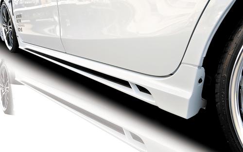 ROWEN ECO-SPO Edition サイドステップ(FRP) 単色塗装済み トヨタ プリウスα G's ZVW40/ZVW41用 (1T005J00#)【エアロ】ロェン エコスポエディション