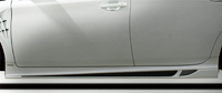 ROWEN ECO-SPO Edition RR サイドステップ バージョン2(FRP) 塗装済み トヨタ プリウスG's ZVW30用 (1T008J00#)【エアロ】ロェン エコスポエディション