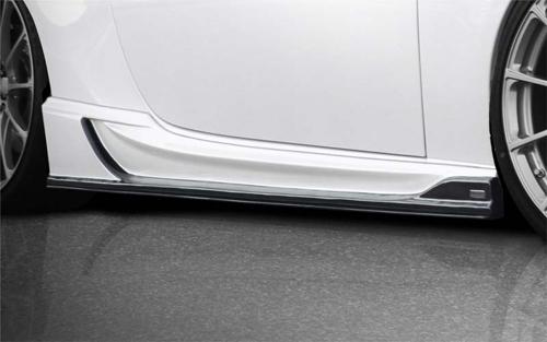 ROWEN PREMIUM Edition サイドアンダーフラップ(カーボン)スバル BRZ ZC6用 (1T009J11)【エアロ】ロェン プレミアムエディション