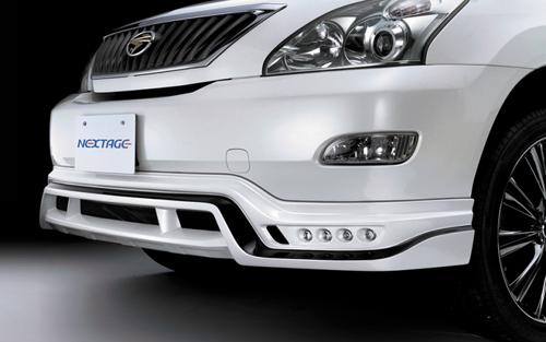 ROWEN PREMIUM Edition フロントスポイラー(FRP) 塗装済み トヨタ ハリアー 30系用 (1T015A00#)【エアロ】ロェン プレミアムエディション